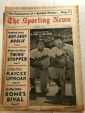 1967 Sporting News WASHINGTON Senators GIL HODGES Frank HOWARD No Label NATS