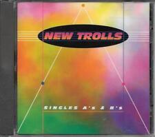 """NEW TROLLS - RARO CD MELLOW RECORDS FUORI CATALOGO 1994 """" SINGLES A'S E B'S """""""