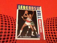#6 Wilt Chamberlain Philadelphia 76ers Panini NBA Hoops 2017-18 basketball card
