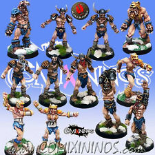 Fantasy Football - NORSE TEAM 12 Players for Blood Bowl - Mano di Porco
