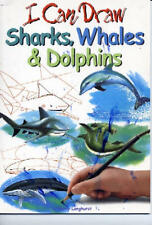 I Can Draw Sharks, Whales & Dolphins