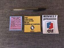 kit autocollants Renault 4 L - version 2