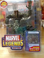 Marvel legends Man Thing w/card and comic