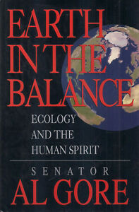 """EARTH IN THE BALANCE"" 1st Printing INSCRIBED by AL GORE to Author M. SCOTT PECK"