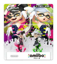Amiibo Splatoon Squid Sisters Callie and Marie Nintendo 3ds Wii U Japan New F/S