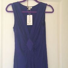 Monsoon Vibrant Purple Maxi Dress, Size 8, BNWT