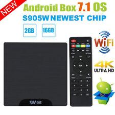 W95 Android 7.1 TV Box Amlogic S905W Mali-450 Quad Core 2Go/16Go UHD WIFI H.265