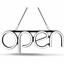 Led Neon Open Sign Light. Perfect To Advertise Storefront, Business, Office, And