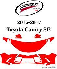 3M Scotchgard Paint Protection Film Clear Bra Kit 2015 2016 2017 Toyota Camry SE