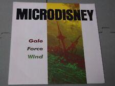"Microdisney:  Gale Force Wind      7""   Near Mint Unplayed"