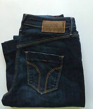 Miss Sixty New Women's Duplex Flare Jeans Size W24 L34 Color Blue Retail 106 £