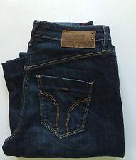 Miss Sixty New Women's Duplex Flare Jeans Size W24 L32 Color Blue Retail 106 £
