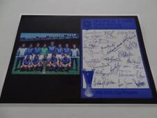 Ipswich Town Fc 1981 Uefa Cup Kevin Beattie Bobby Robson + 22 Signed Reprint
