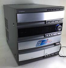 Yamaha GX-700 Mini Component AM FM Stereo 3 CD Changer Player Tape Cassette Deck