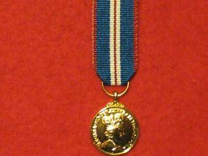 Miniature Queens Golden Jubilee Medal 2002 BRAND NEW