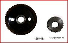 Engine Timing Set-VIN: U, OHV, General Motors, 8 Valves ENGINETECH, INC. 2544S
