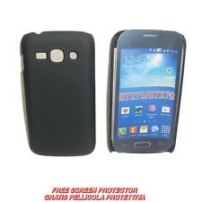Pellicola + custodia BACK COVER RIGIDA NERA per Samsung Galaxy Ace 3 S7270 S7272
