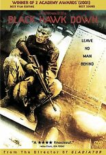 Black Hawk Down (DVD, 2001) Josh Hartnett, Ewan McGregor, Tom Sizemore