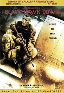 Black Hawk Down (DVD, 2002) Josh Hartnett - BUY 2 GET 1 FREE, FREE SHIPPING