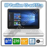 HP Pavilion 15-au077sa Laptop 15.6in Intel core i5 256GB SSD 8GB RAM B&O Play