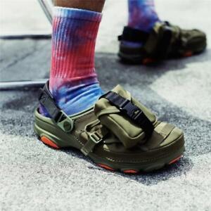 Crocs Beams exclusive Classic All Terrain Clog MA-1 jacket military Sandals