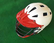 Cascade Lacrosse Helment Red / White Size Mens Small