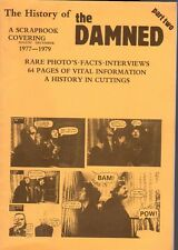 THE DAMNED  HISTORY OF THE DAMNED SCRAPBOOK part two like a new