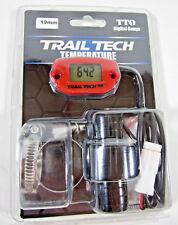 Trail Tech TTO Temperature Meter Digital Gauge 19mm Hose Sensor Red 744-EH1
