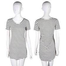 Unbranded Cotton Blend Short Sleeve Shirt Dresses