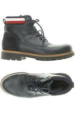 Tommy Hilfiger Stiefel Herren Boots Gr. DE 41 Leder blau #5cf08d1