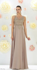 NEW BRIDESMAIDS FORMAL DRESSES LONG SPECIAL OCCASION PROM EVENING GOWN PLUS SIZE