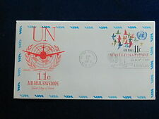 United Nations, UC10, 11 Cent, Air Envelope, Artmaster FDC, 1972