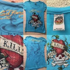 Ed Hardy Embellished Tee T-Shirts for Women