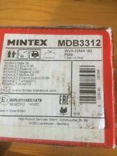 Mintex Rear Pads MDB3312 Nissan note, Clio, MEGANE, modus, twingo, wind