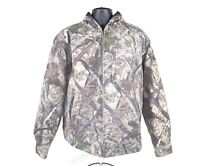 RedHead Silent Hide Hooded Jacket Mens M Camo Thermolite Lined Hunting Coat