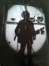 Jimi Hendrix Live Yale Uni 1968 Single Page Poster from Music Magazine 30x24cm