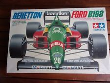 COLLECTOR TAMIYA BENETTON FORD B 188 SEALED BOUTSEN   1/20 MAQUETTE AUTO