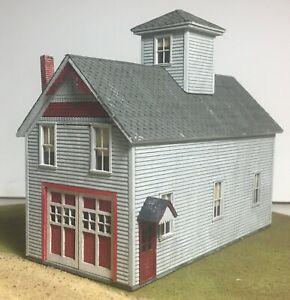 Motrak Models Alton Fire Station Structure Kit - S Scale - NEW