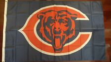 Chicago Bears 3x5 Flag. US seller. Free shipping within the US