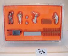 Preiser H0 Figuren Nr. 10251 Maurer und Zübehör OVP #716