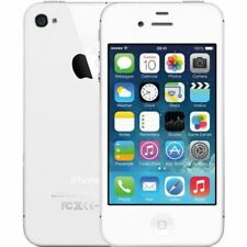 WHITE APPLE IPHONE 4S 16GB UNLOCKED CELL PHONE FIDO ROGER CHATR TELUS BELL KOODO