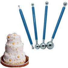 Cutter Flower Sugarcraft Kitchen DIY Ball Modeling Tools Fondant Cake Sticks