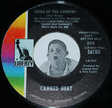 Classic Rock PROMO 45~CANNED HEAT~Going Up The Country / Future Blues~Liberty