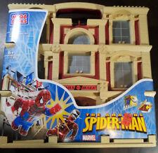 New 2005 Mega Bloks #1911 Daily Bugle Amazing Spider-Man Building NIB Magnetic