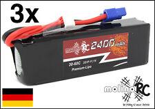 3x 2400mAh | 3S | 11,1V | Wimmbo | BRD | 30C - 60C | EC3 | Lipo | Li-Po 2400