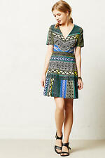 New Anthropologie New Moon Dress by Plenty by Tracy Reese 6P Petite