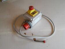 Schalter Stecker für Holzspalter 400V Drehstrom 16A Thermo u Wiederanlaufschutz