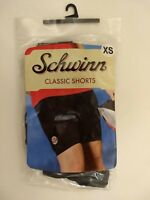 Womens XSmall Schwinn Classic Bike Shorts Black Padded Cycling Spandex Polyester