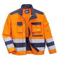 Portwest Men Lille Hi-Vis Jacket Various Color and Size TX50