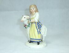 Rare Figure en Porcelaine Figurine Ludwigsbourg 18 Siècle Chèvre